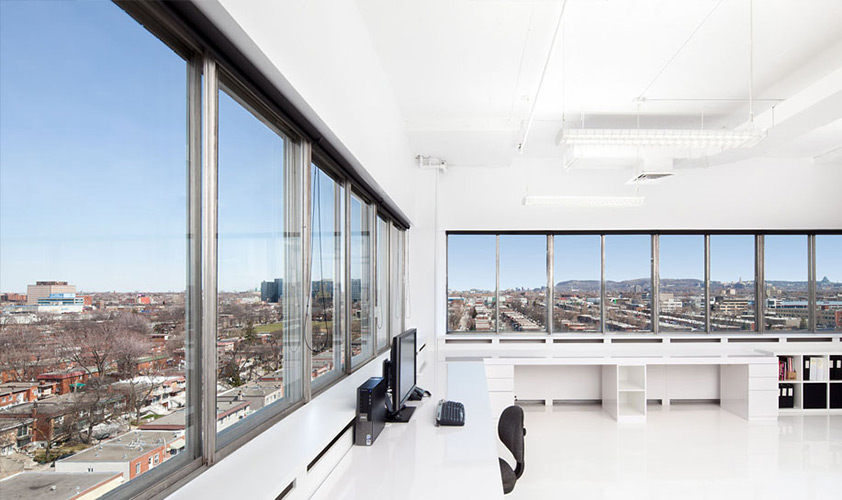 225 Chabanel - Office and loft for rent Montreal