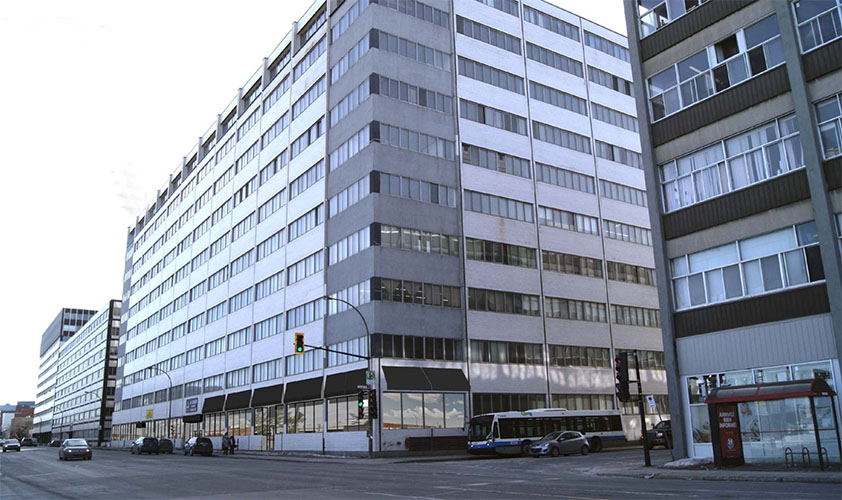 Workshop And Office For Rent Montreal O 9494 St Laurent Groupe Dayan